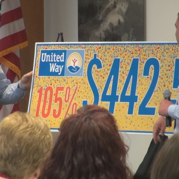 United Way campaign announcement