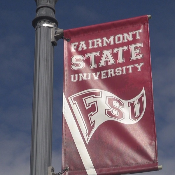 Fairmont State sign