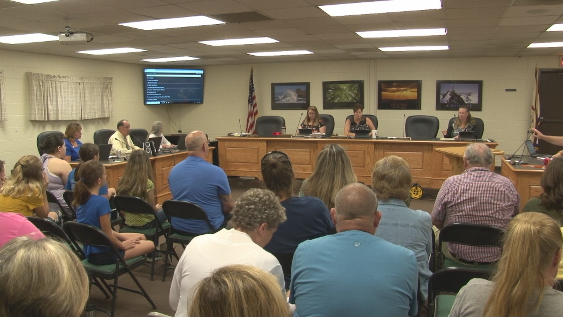 Randolph County parents raise concern about students locked