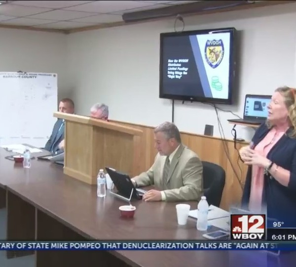 WVDOH meets with District 7 Counties to discuss budget
