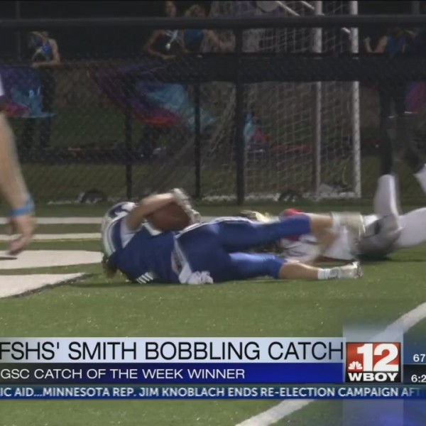 FSHS' Smith wins GSC Catch of the Week