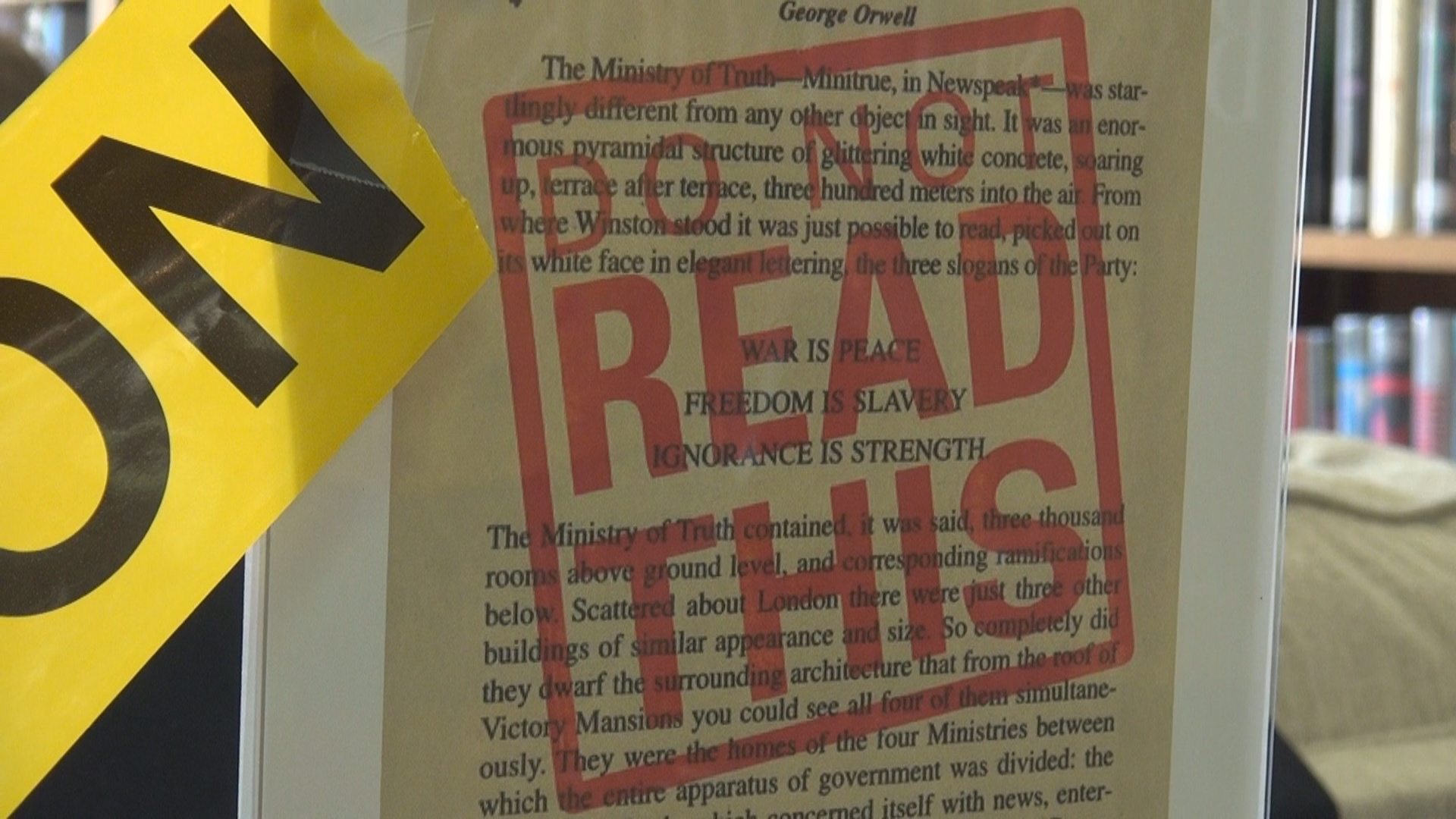 Randolph County library celebrates banned books