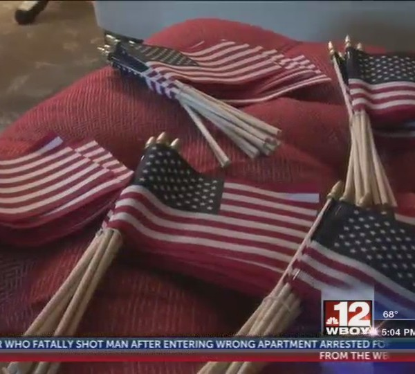 Marion County United Way provides flags in remembrance of 9/11