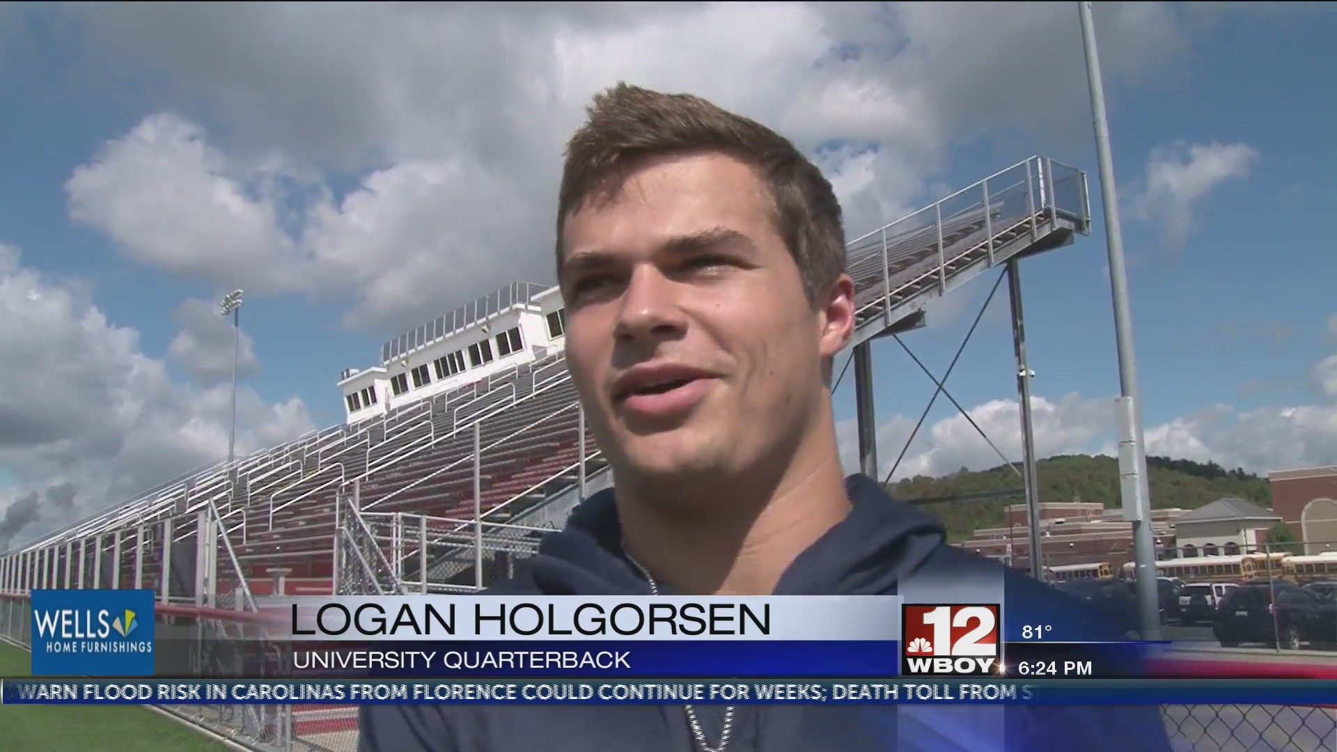 UHS players react to WVU players, coach Holgorsen watching Friday