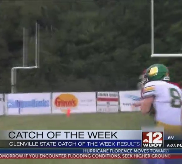 Doddridge County's Griffin Devericks earns Glenville State College Catch of the Week