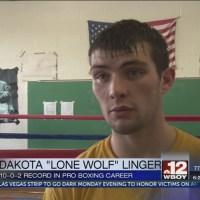 Dakota Linger prepares for Thursday's fight