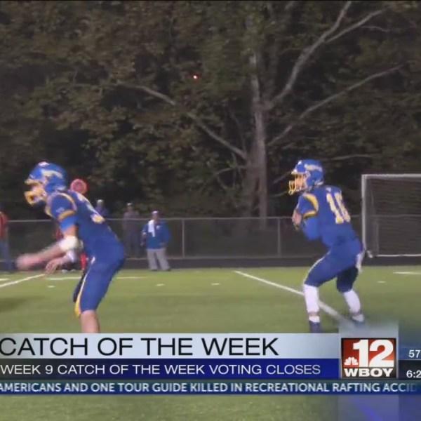 Grafton's Noah Hodges wins Week 9 Catch of the Week
