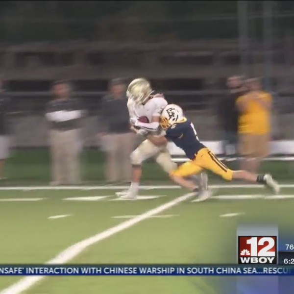 Lincoln's Gauge Freeman wins GSC Catch of the Week