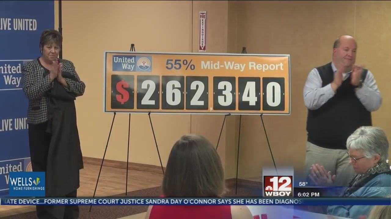 United Way of Marion County announces record reaching numbers for mid-way report