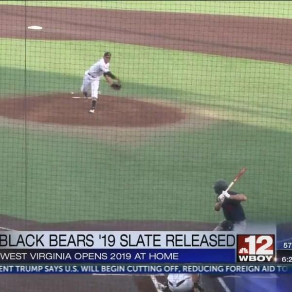 WV Black Bears 2019 schedule released Monday