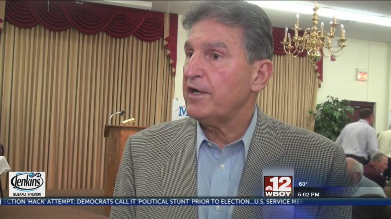 Senator Manchin speaks out about Hazelton USP issue