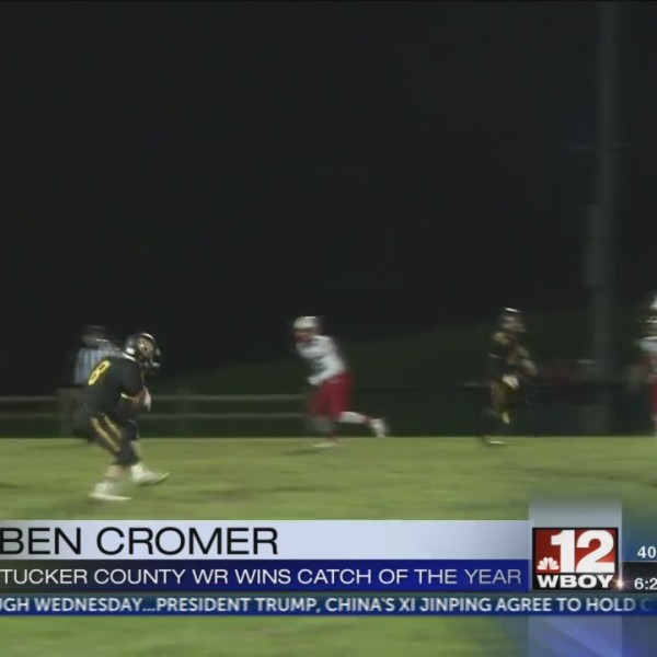 Ben Cromer wins Catch of the Year playoff voting