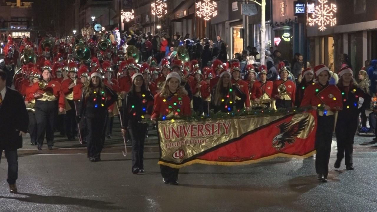 Barboursville Wv Christmas Parade 2021 Morgantown Christmas Parade Moved To Thursday Wboy Com