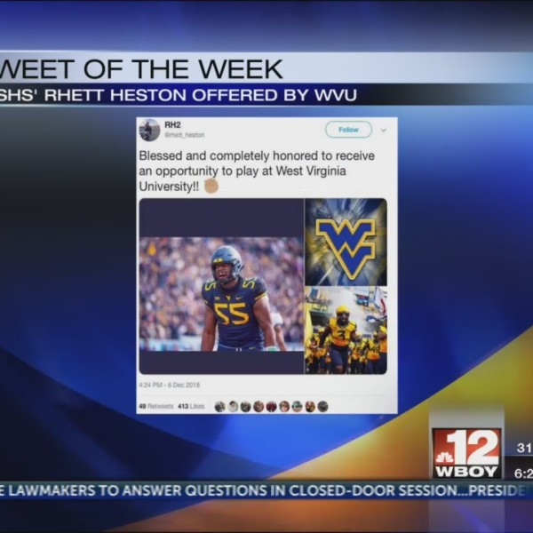 Rhett Heston Tweet of the Week