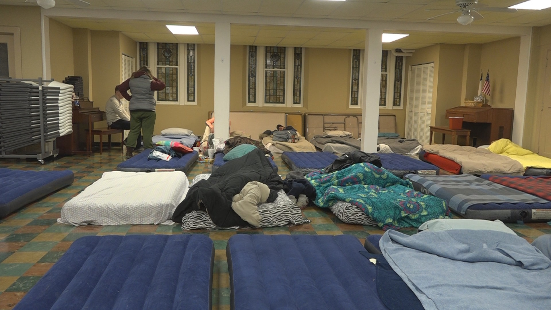The Change Initiative and Clarkburg Mission provide shelter