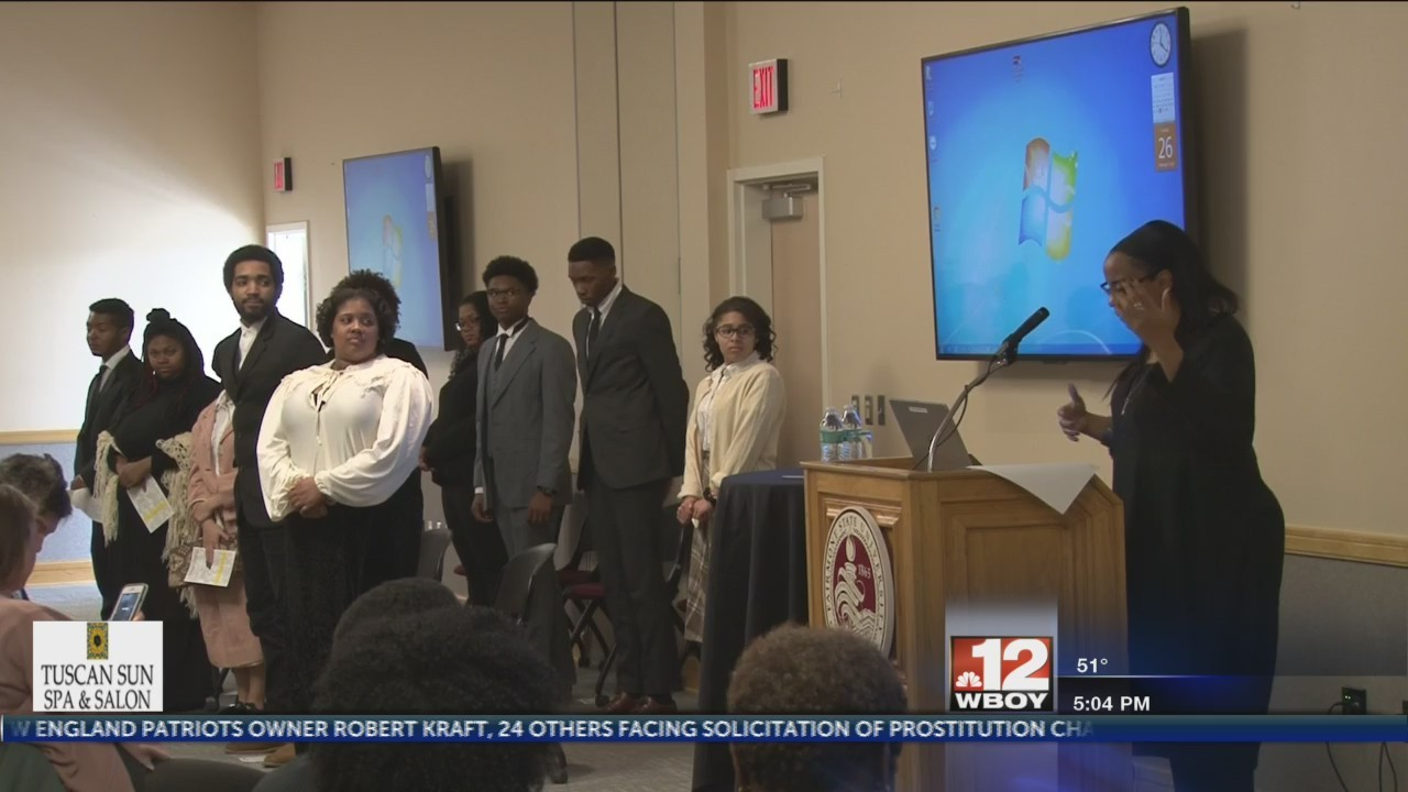 Fairmont State's Black Student Union host Black History Month presentation