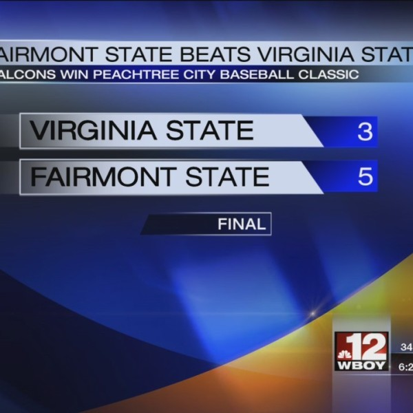 Fairmont State wins the Peachtree City Baseball Classic