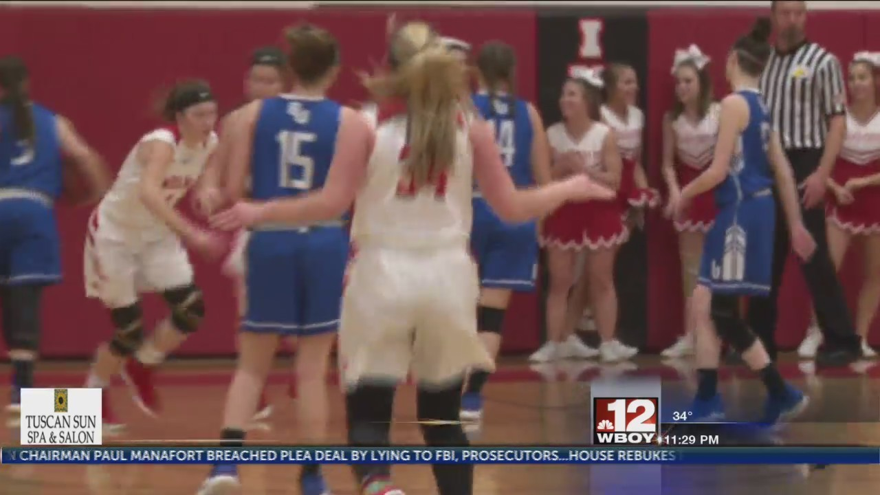 Lady Indians edge B-U in home finale