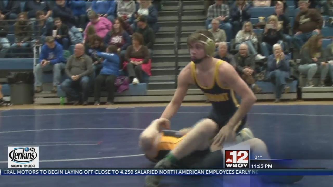 Lane Flint, East Fairmont win Big 10 Wrestling Tournament title