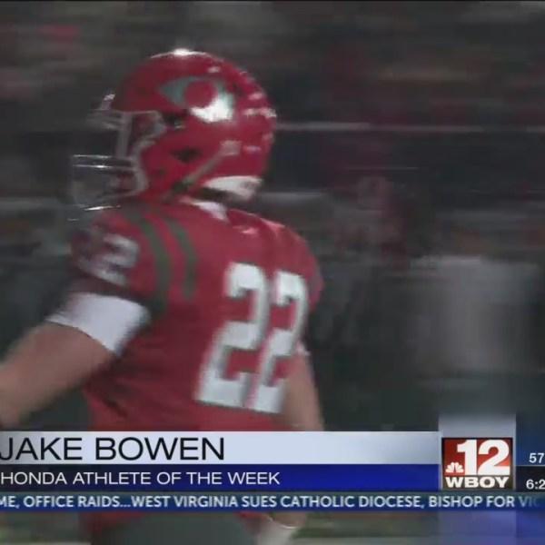 Bridgeport's Jake Bowen named Honda Athlete of the Week