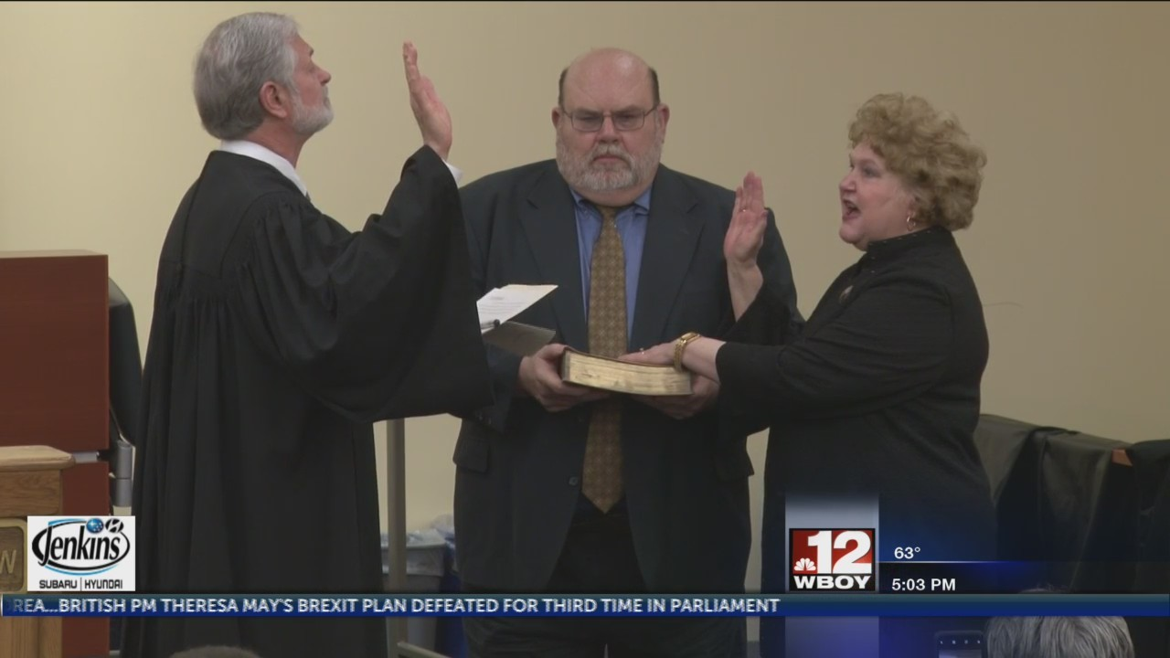 Debra Scudiere takes bench as new Monogalia County Circuit Judge