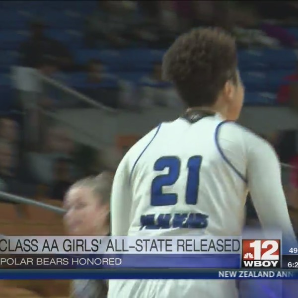 Girls' AA All-State Teams released