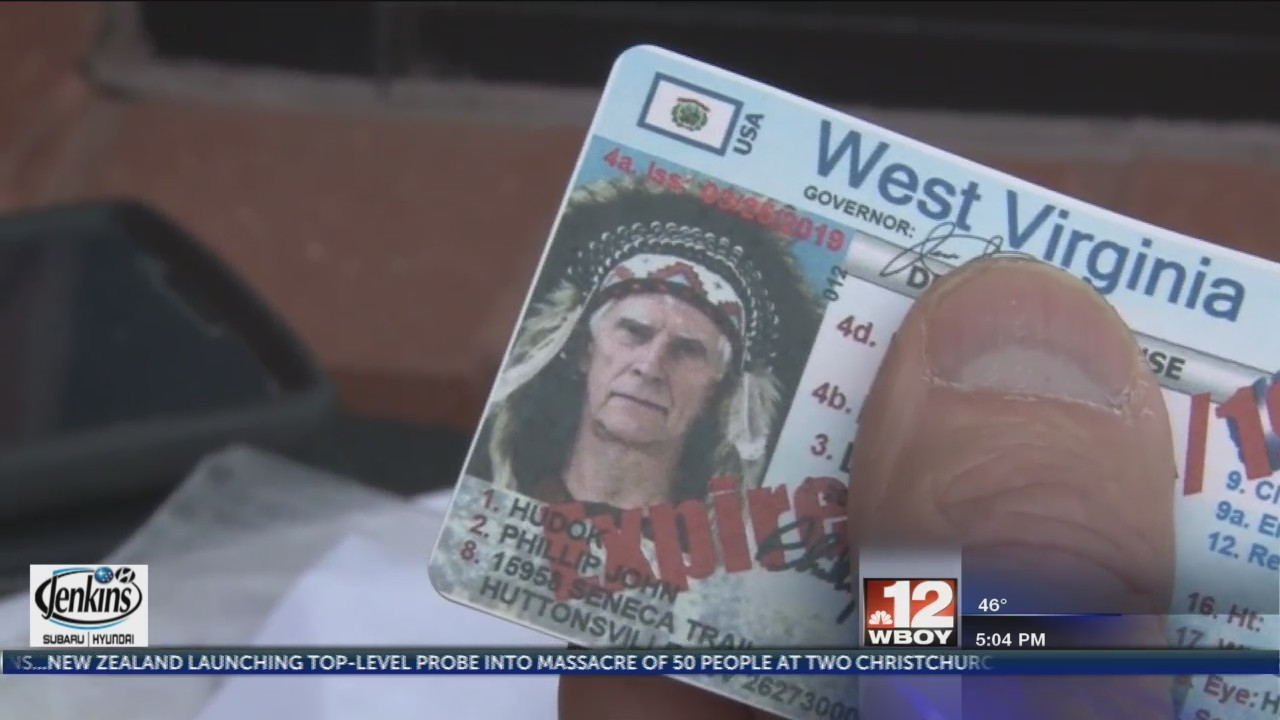 Local man protests getting new biometric driver's license for religious reasons