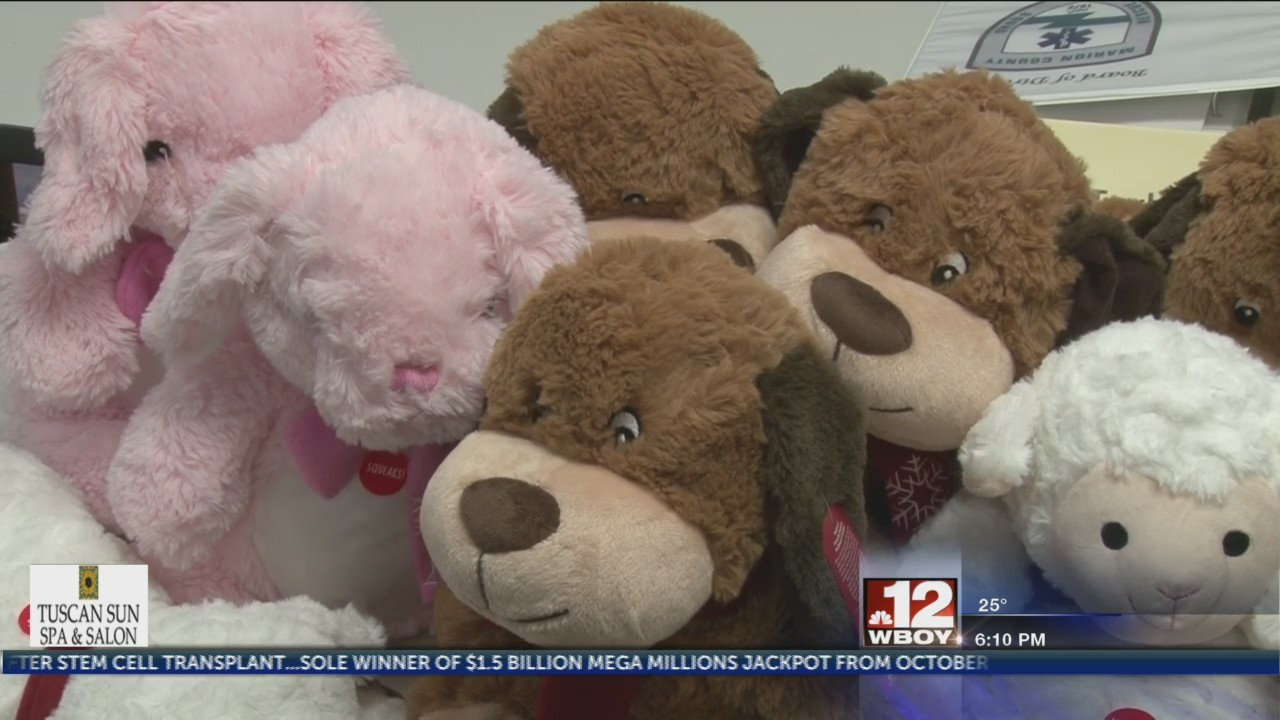 Motorcycle club donates thousands of teddy bears to emergency