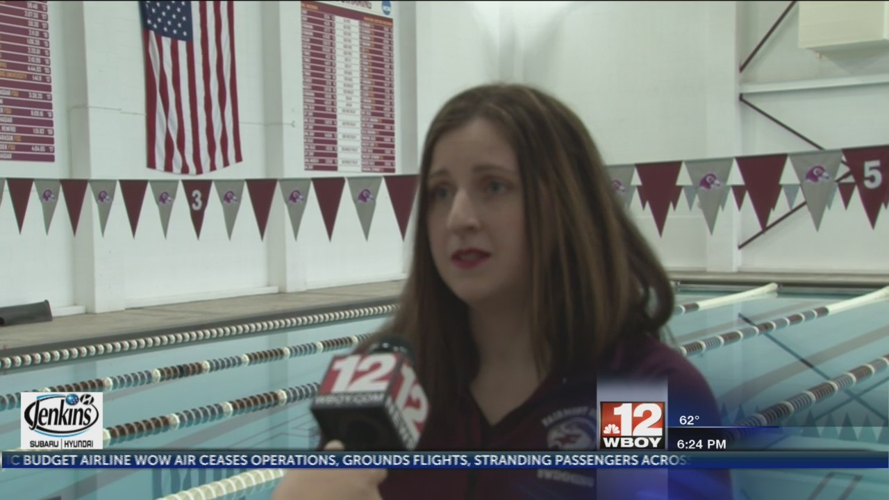MEC swimmer of the year, Deem speaks about next season