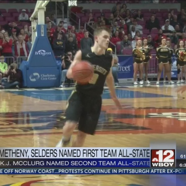 Metheny, Selders earn first team all-state honors