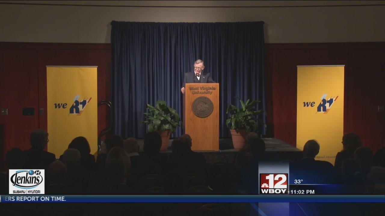 WVU President Gordon Gee gives bi-annual State of the University Address