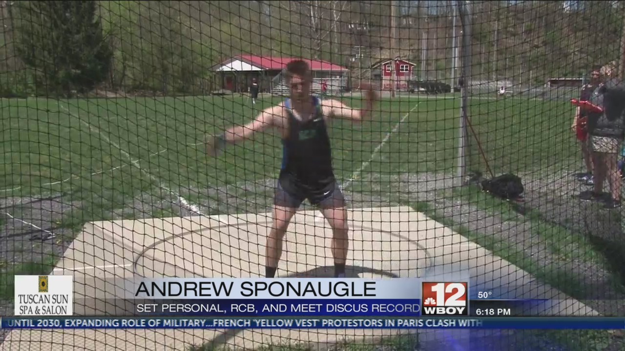 Andrew Sponaugle sets RCB and meet record at Harry Green Statewide Invitational