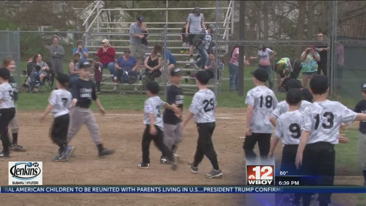 Clarksburg Little League holds Opening Day