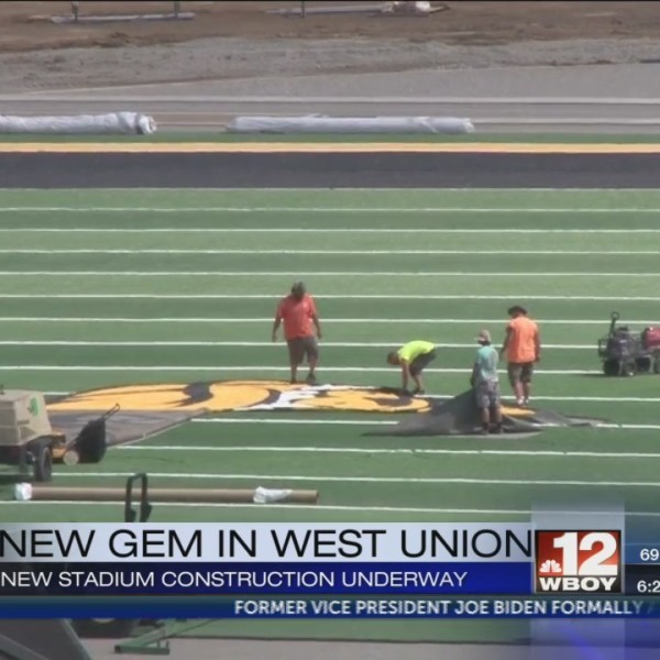 Doddridge County football facility nears completion