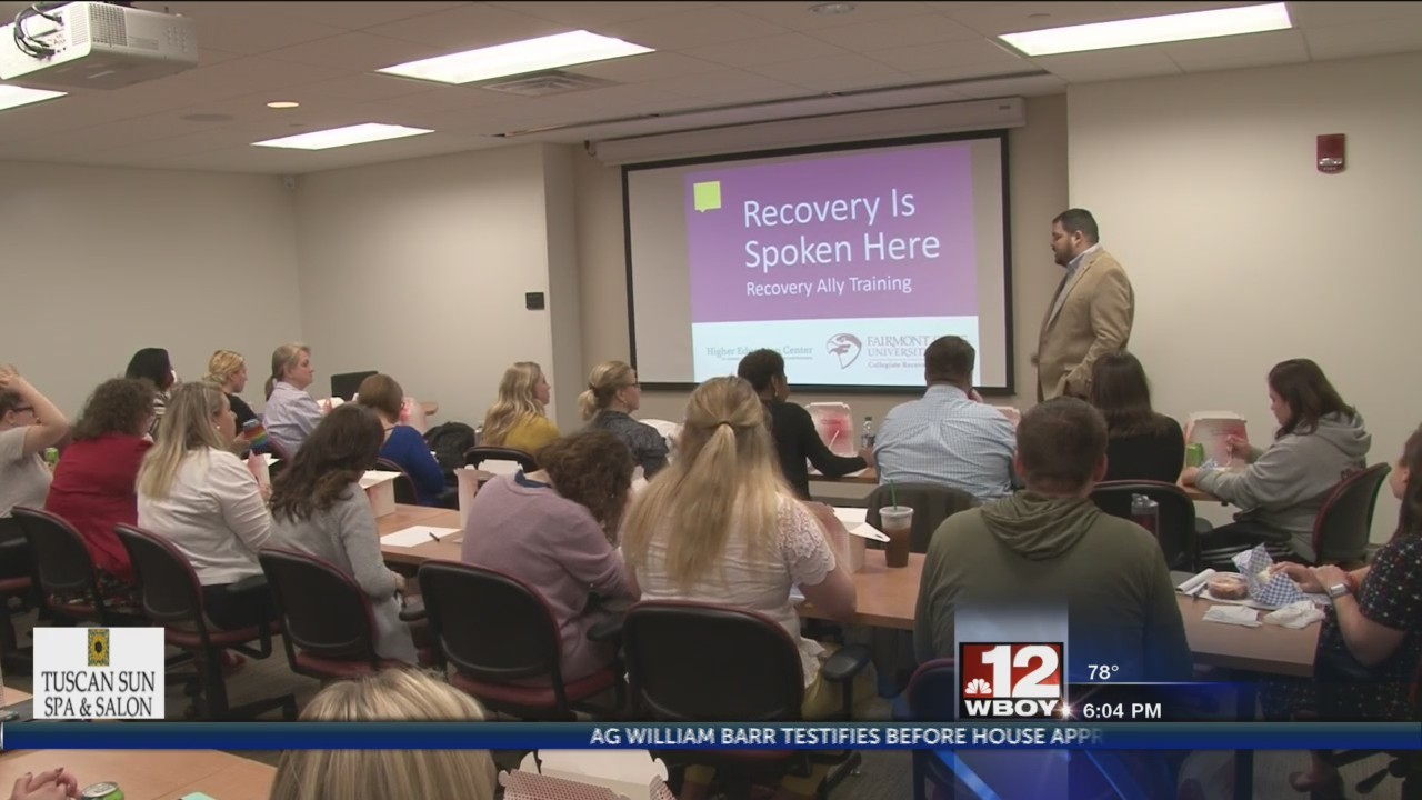 Fairmont State host training to promote friendly safe-zones for students to discuss addictions
