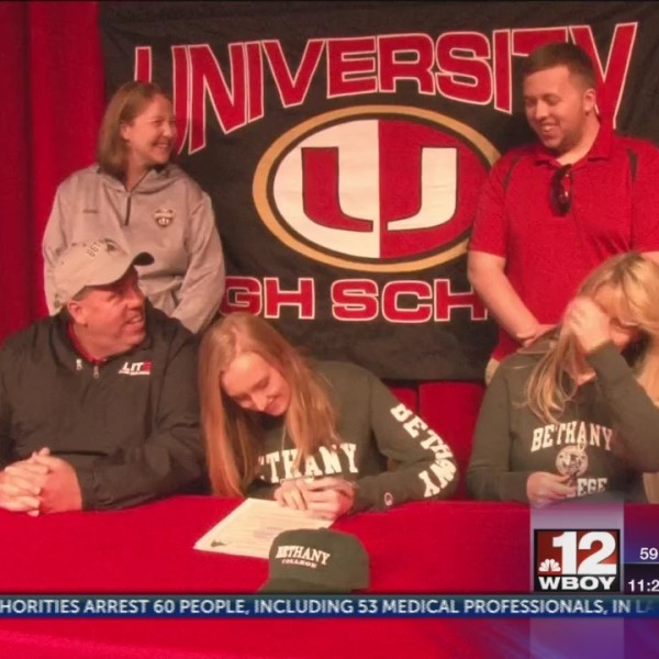 Honda Athlete of the Week: Four University athletes sign to further their athletic careers