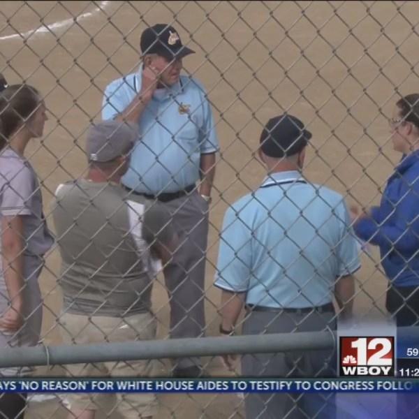 Lincoln softball erupts for 10 runs, downs RCB