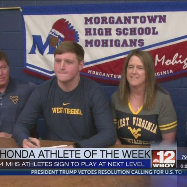 Nick Malone commits to WVU, three other MHS athletes chose their colleges