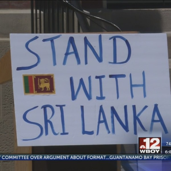 Sri Lanka Students Association of WVU holds memorial to remember Easter Sunday bombing victims