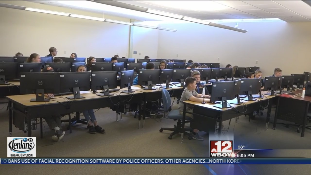 Fairmont State University hosts West Virginia Cyber Robotics and Coding competition