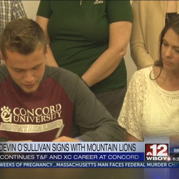 Notre Dame's Devin O'Sullivan signs with Concord