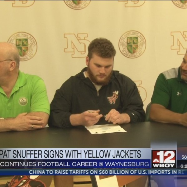 Notre Dame's Pat Snuffer signs with Waynesburg football