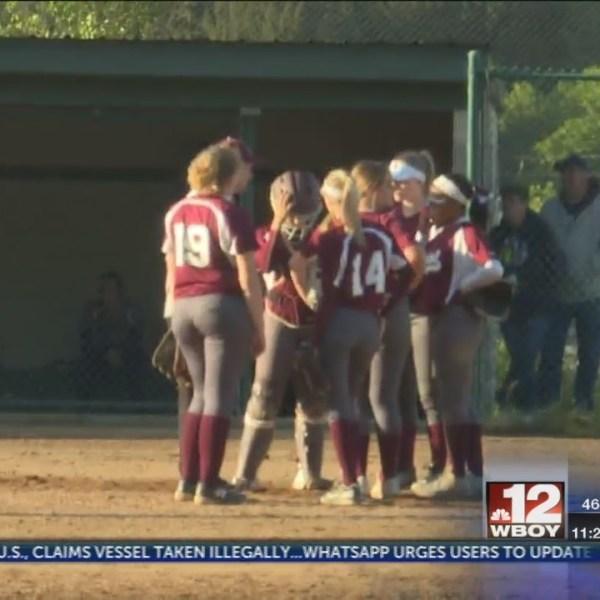 Ritchie County softball loses nail biter at Wheeling Central Catholic