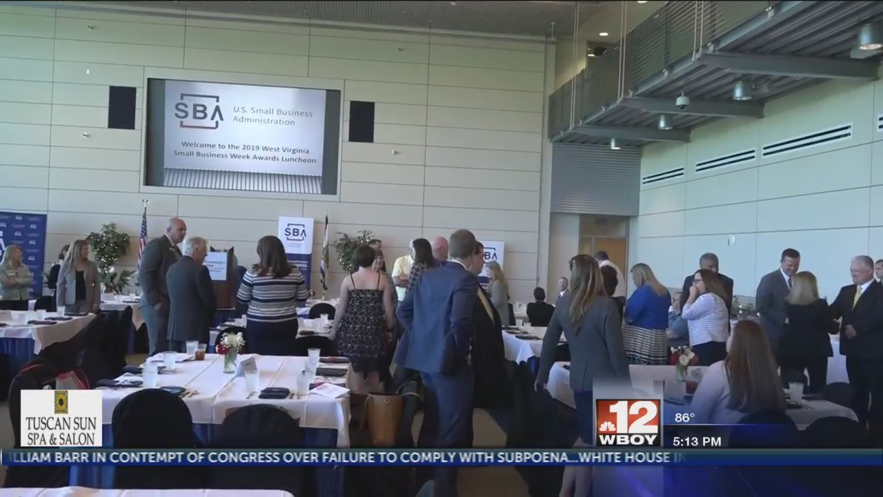 Small businesses honored at Small Business Administration annual award luncheon