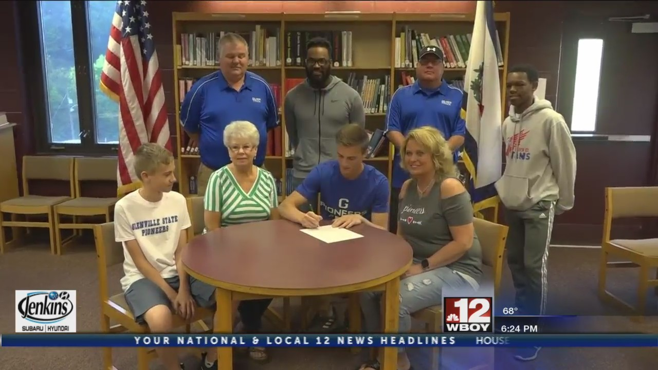 Steele & Chapman sign with Glenville State