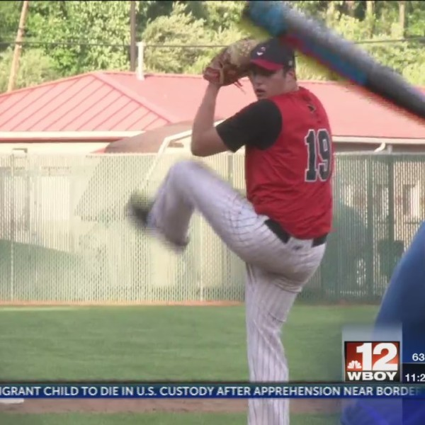 Via strikes out 11, Bridgeport one win away from state tourney berth