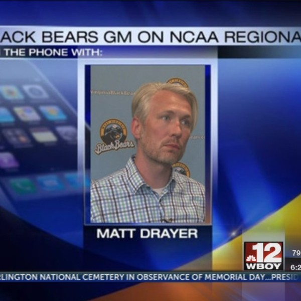 WV Black Bears prep for WVU Baseball to host NCAA Regional