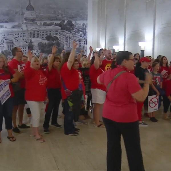 As teachers roar, GOP fails to expedite education plan