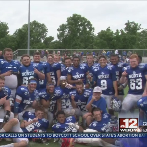 North beats South in North/South Football Classic