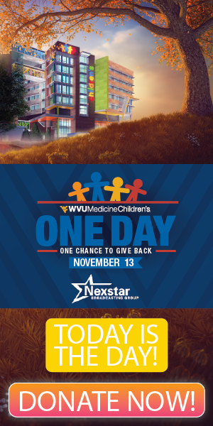 Donate to WVU Childrens Miracle Network Day of giving 2019